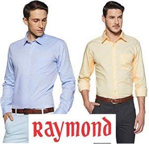4b2f2e26974 Raymond Men s shirts  Flat 70% off   Amazon - Getfreedeals.co.in