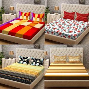 Steller Home Bedsheets – Minimum 50% off starts Rs.359 @ Flipkart