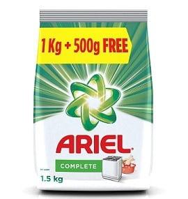 Ariel Complete Detergent Washing Powder 1.5 kg