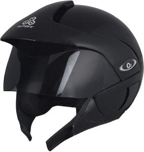 Autofy O2 Full Close Helmet (Black, M) for Rs.717 – Amazon