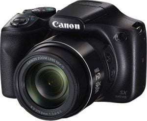 Canon PowerShot SX540HS 20.3MP Digital Camera with 50x Optical Zoom + Memory Card + Camera Case for Rs.17,566 – Amazon
