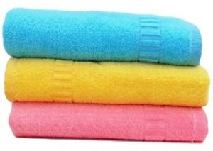 DR Cotton Terry 400 GSM Bath Towel Set  (Pack of 3, Multicolor) for Rs. 539 – Flipkart