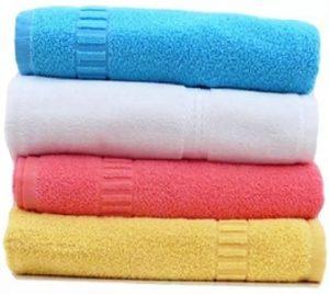 DR Cotton Terry 400 GSM Bath Towel Set  (Pack of 4, Multicolor) for Rs.795 – Flipkart
