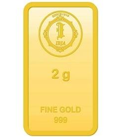 IBJA Gold Investment Bar 24 K (999) 2 gram Gold Bar for Rs.6,228 – Flipkart (20% Discount)
