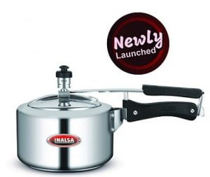 Inalsa Primo 3 Litre Pressure Cooker with Outer Lid & Induction Compatible for Rs.775 – Amazon (Limited Period Deal)