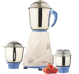 Signora Care Eco Plus 500-Watt Mixer Grinder with 3 Jars for Rs.999 @ Amazon (3 Yrs Warranty) Limited Period Deal