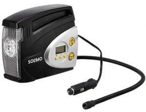 Solimo Portable Digital Tyre Inflator for Rs.1299 – Amazon