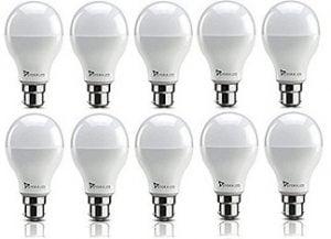 Syska SRL 9-Watt LED Bulb (Pack of 10)