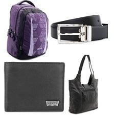 Belts, Bags, Backpacks, Wallets, Handbags, Clutches - Min 60% Off