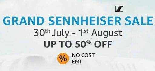 Sennheiser Sale: Upto 60% Off on Headphone, Earphones @ Amazon
