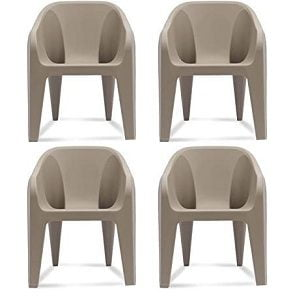 Supreme Futura Plastic Chairs (Set of 4) – Flat 75% Off for Rs.1511 – Amazon