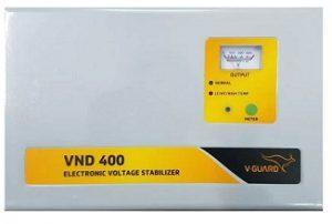 V-Guard VND400 Voltage Stabilizer for 1.5 Tonn AC (150 V – 290 V) for Rs.2,440 – Flipkart (Lowest Price Rate)