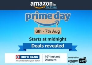 Amazon Prime Day Deal: Exclusive Offers For Prime Members On Prime Day (LAST DAY)