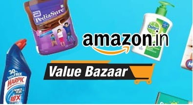 Amazon Value Bazaar: Upto 80% off on Household & Family Care Products, Health & Hygiene