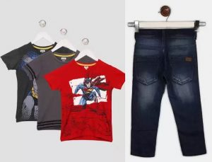 Kids Clothing (UCB, Fashionable World,Barbie, Miss Chief) – Flat 70-81% off @ Flipkart
