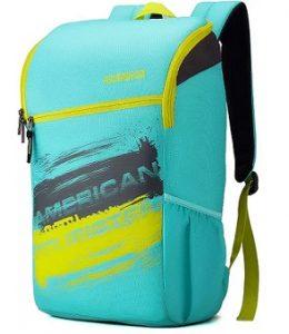 American Tourister Zest Sch Bag 24 L Backpack (Blue) for Rs.699 – Flipkart