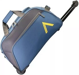 Flat 54% off – Aristocrat 25 inch/65 cm VOLT NXT DFT 65 TEAL Duffel Strolley Bag for Rs.1234 – Flipkart
