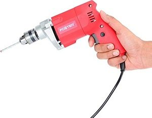 Foster FPD-010A 10mm Chuck Size 400-Watt Pistol Grip Drill Machine for Home for Rs.683 – Amazon