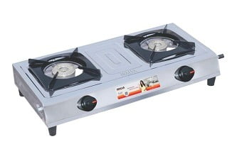 Inalsa Excel Stainless Steel 2 Burner Gas Stove  for Rs.1159 – Amazon