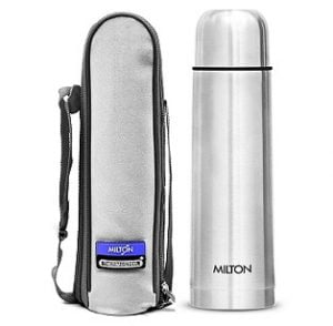 Milton Thermosteel Flip Lid Flask, 750 milliliters for Rs.599 – Amazon