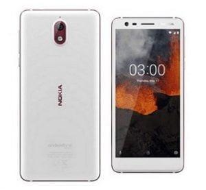 Nokia 3.1 (White, 16 GB, 2 GB) for Rs.5,798 – Amazon