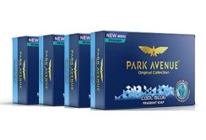 Park Avenue Cool Blue Fragrant Soap, 125g (Pack Of 4) for Rs.81 – only @ Amazon