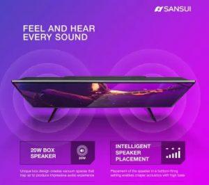 Sansui Pro View 102cm (40 inch) Full HD LED TV 2019 Edition (40VNSFHDS) for Rs.15,999 – Flipkart