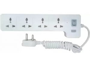 Syska 4 Way Power Strip 4 Socket Surge Protector for Rs.319 – Flipkart