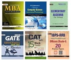 Entrance Exam Books – Upto 69% Off starts from Rs.18 at Flipkart