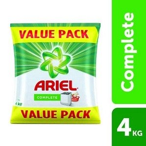 Ariel Complete Detergent Washing Powder – 4Kg Value Pack worth Rs.1080 for Rs.560 – Amazon