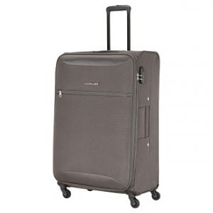 Kamiliant by American Tourister Zaka Polyester 78 cms Grey Softsided Check-in Luggage for Rs.2,799 – Amazon