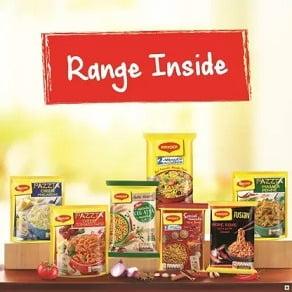 Maggi Assortment Pack Instant Noodles Vegetarian (764.5 g) for Rs.143 – Flipkart
