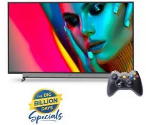 Motorola LED Smart Android TV with Wireless Gamepad – 29% – 43% Off + Extra 10% off @ Flipkart