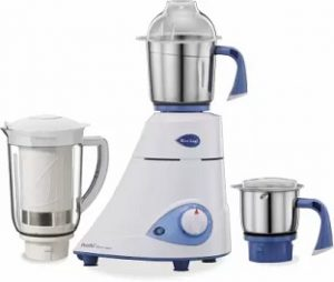 Preethi Blue Leaf Platinum select MG226 750 W Mixer Grinder 3 Jars for Rs.2,899 – Flipkart