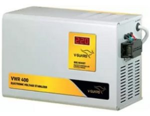 V-Guard VWR 400 for AC upto 1.5 Ton (130V- 300V) Voltage Stabilizer for Rs.3,990 – Flipkart