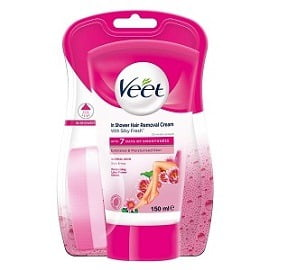 Veet In-shower Hair Removal Cream, Normal Skin – 150 ml worth Rs.450 for Rs.305 – Amazon