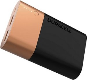 Duracell PB10050 5002732 10050mAH Lithium Ion Powerbank with 3 Yrs Warranty for Rs.1299 – Amazon