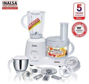 Inalsa Fiesta 650-Watt Food Processor for Rs.3479 @ Amazon