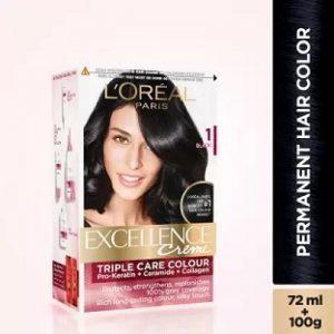 L'Oreal Paris Excellence Creme Hair Color (Black 1) worth Rs.590 for Rs.413 – Flipkart
