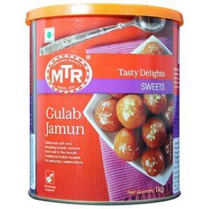 MTR Gulab Jamun Tin, 1kg for Rs.150 – Amazon