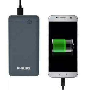Philips 10000 mAh Power Bank (DLP1710CV/97, Portable) for Rs.799 – Flipkart