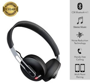 Portronics POR-894 Muffs L Wireless Bluetooth Compact Design Headphone with Mic for Rs.999 – Amazon