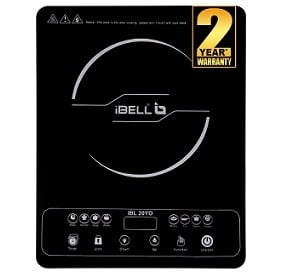 iBELL Glass 2000 W Induction Cooktop