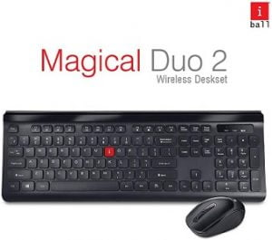 iBall Magical Duo 2 Wireless Keyboard and Mouse for Rs.799 – Flipkart