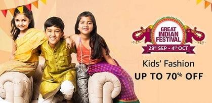 Top Brand Kids Clothing - Minimum 50% Off