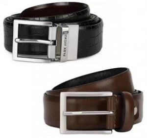 Park Avenue Men's Genuine Leather Belts – Minimum 50% off @ Flipkart