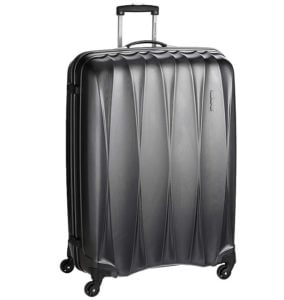 American Tourister Polycarbonate 79 cms Gun Metal Hardsided Suitcase: Flat 71% off + Extra 10% Coupon Discount for Rs.3464 – Amazon