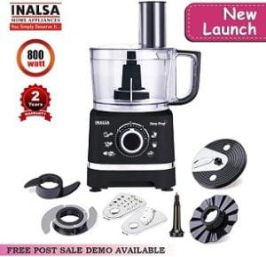 Inalsa Food Processor Easy Prep-800W