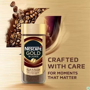 Nescafe Gold Instant Coffee (100 g) worth Rs.475 for Rs.320 – Flipkart