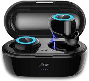 PTron Bassbuds True Wireless Earbuds, Bluetooth 5.0